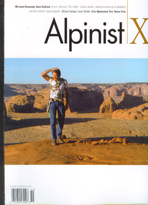 Alpinist Magazine, 72 kb