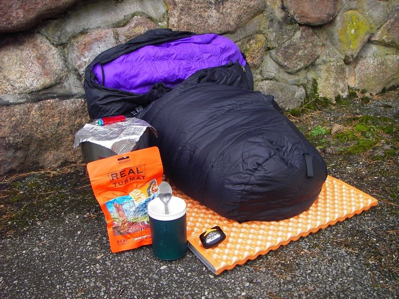 The bare essentials for a bivvy!, 161 kb