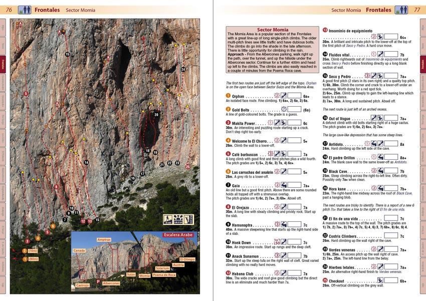 El Chorro Rockfax - Example page 1, 157 kb