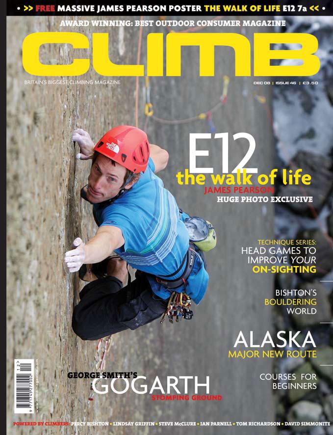 Climb magazine: December 2008, 128 kb