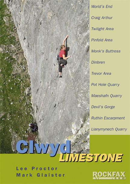 Clwyd Limestone Rockfax Cover, 139 kb