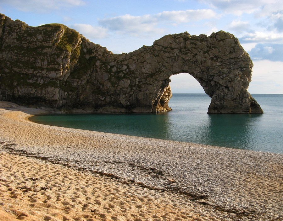 Winter afternoon at Durdle Door, 224 kb