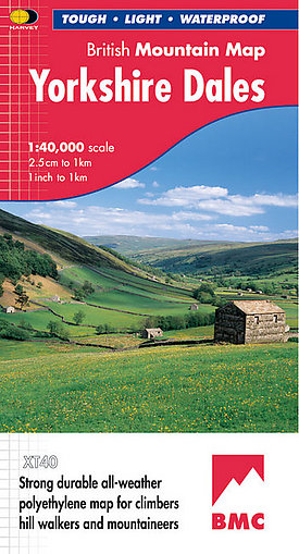 The Yorkshire Dales map , 65 kb