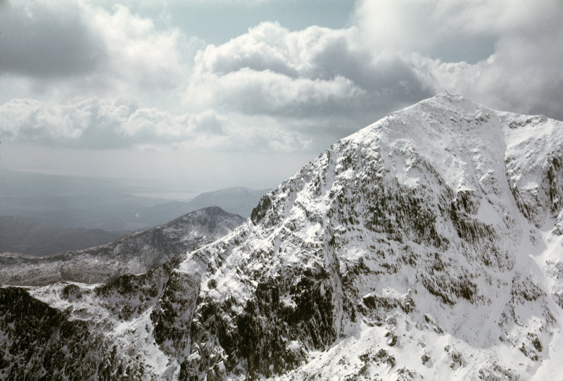 Snowdon Horseshoe in Easter 1975, 107 kb