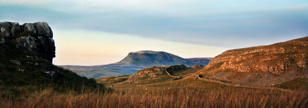 Pen-y-ghent in late afternoon light, 86 kb
