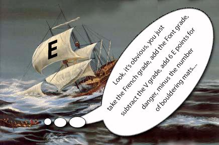 The E Grade battles on through stormy seas, 72 kb