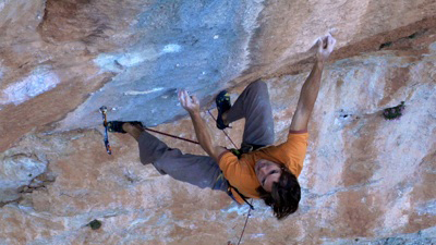 Chris Sharma on Golpe De Estado 9b?, 77 kb