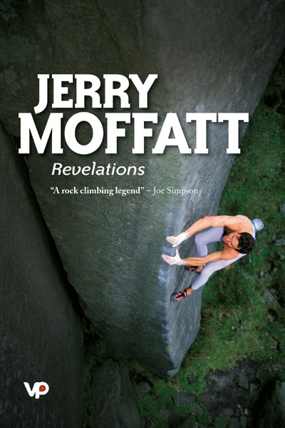 Jerry climbing Ulysses at Stanage on the cover. Photo credit: Heinz Zak/Vertebrate Publishing. , 98 kb
