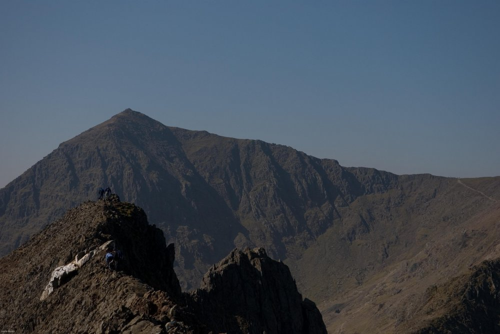 Crib Goch - the scene of many accidents and rescues, 75 kb