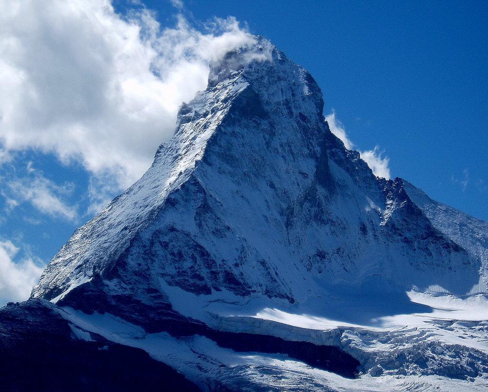 Matterhorn, Hornli Ridge and North Face., 185 kb