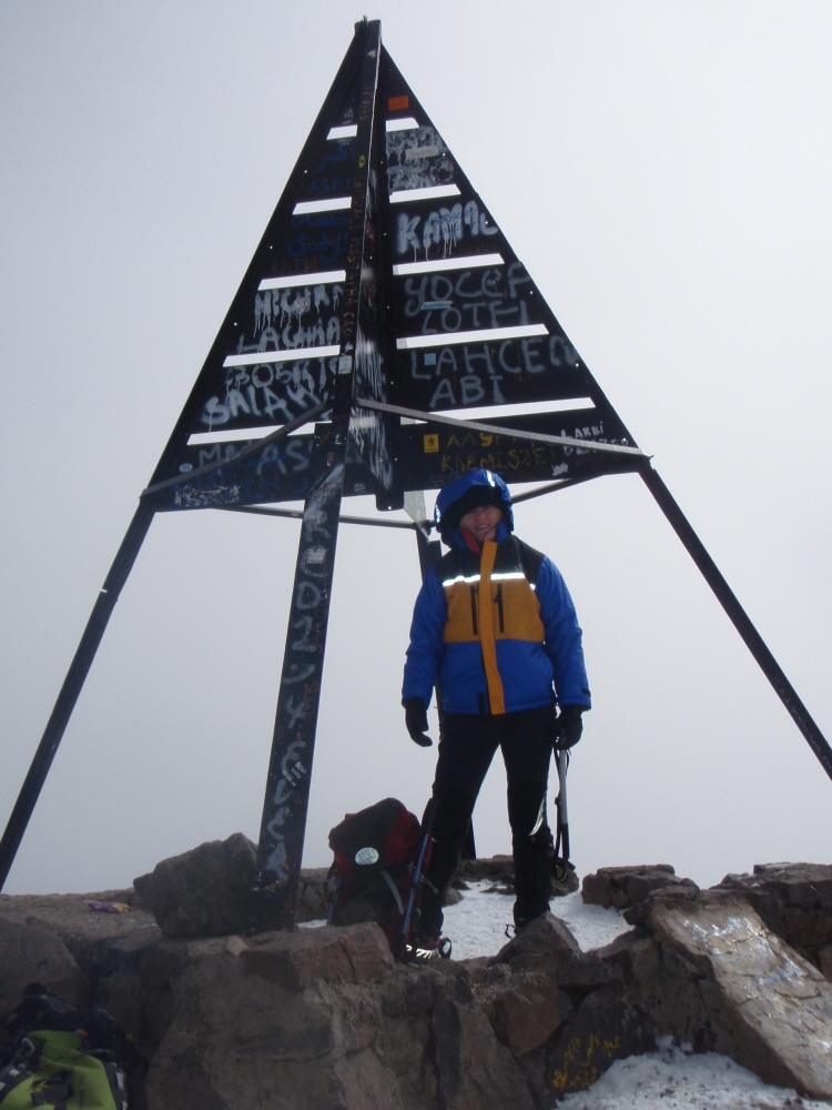 Toubkal summit - fkn freezing!!, 179 kb