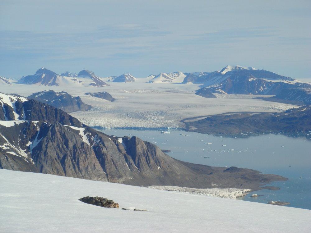 Ollsentopp on Svalbard, 100 kb