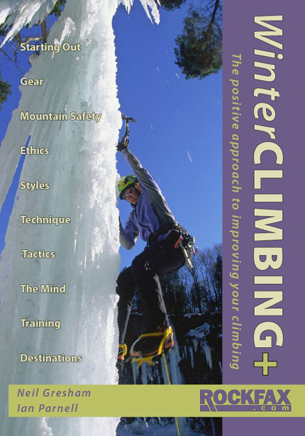 Winter CLIMBING + Rockfax Cover, 63 kb