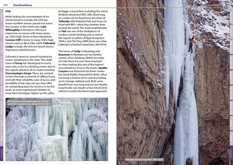 Winter CLIMBING + Example Page, 144 kb