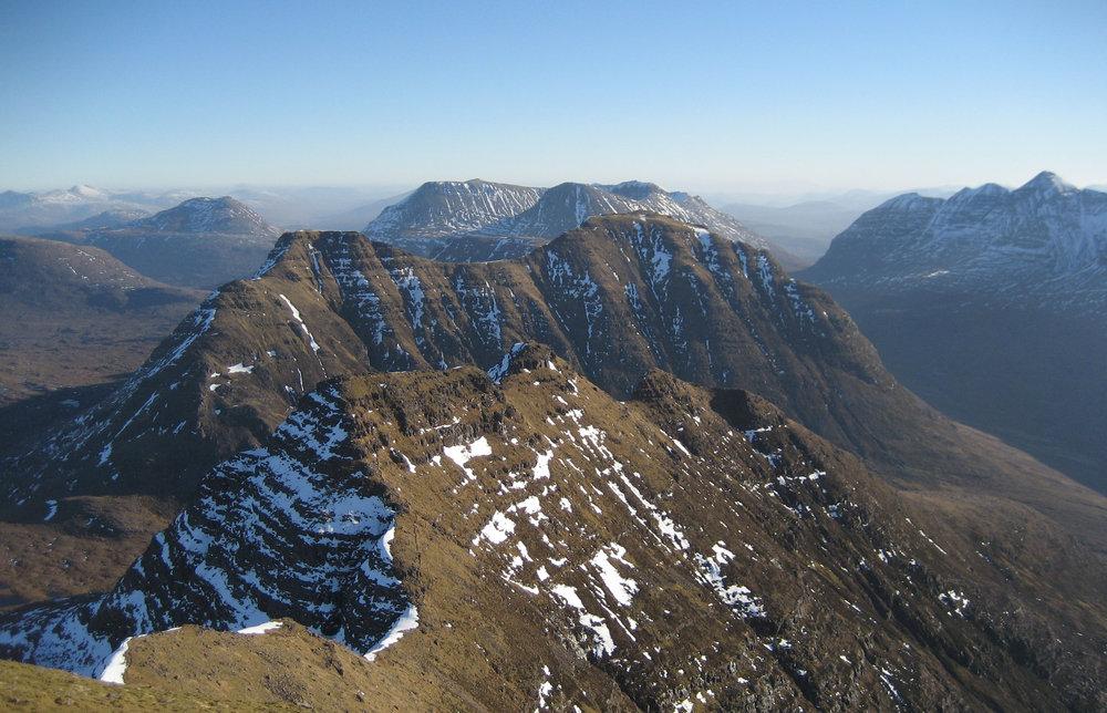 Beinn Alligin Summit view, 174 kb