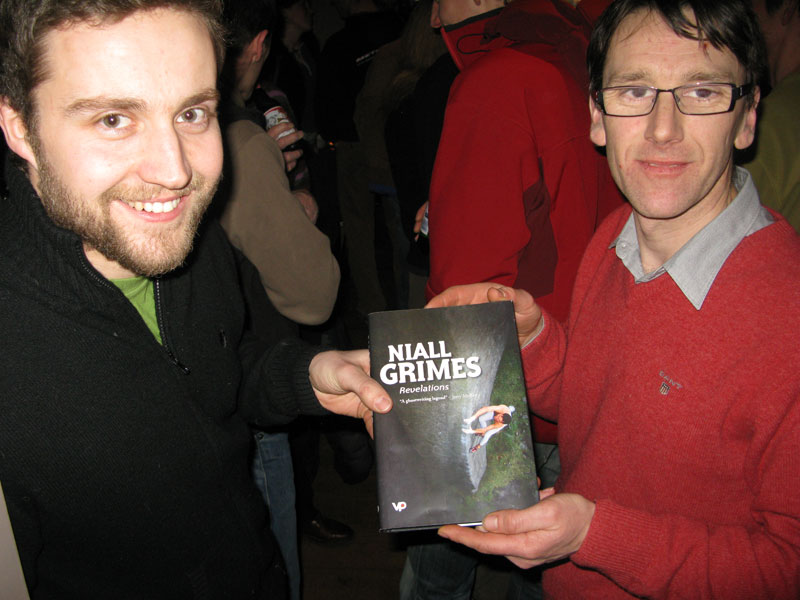 The Publishers, John Coefield and Jon Barton of Vertebrate Publishing, 82 kb