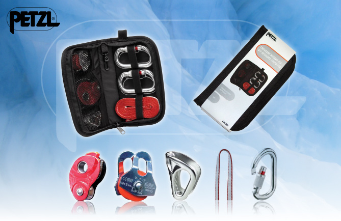 Petzl Crevasse Rescue Kit, Products, gear, insurance Premier Post, 3 weeks at £70pw, 107 kb