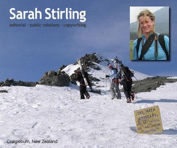 Sarah Stirling Website Link, 29 kb
