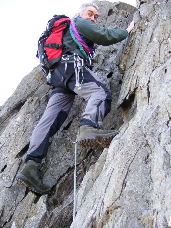 second pitch on cneifion arete, ogwen., 148 kb