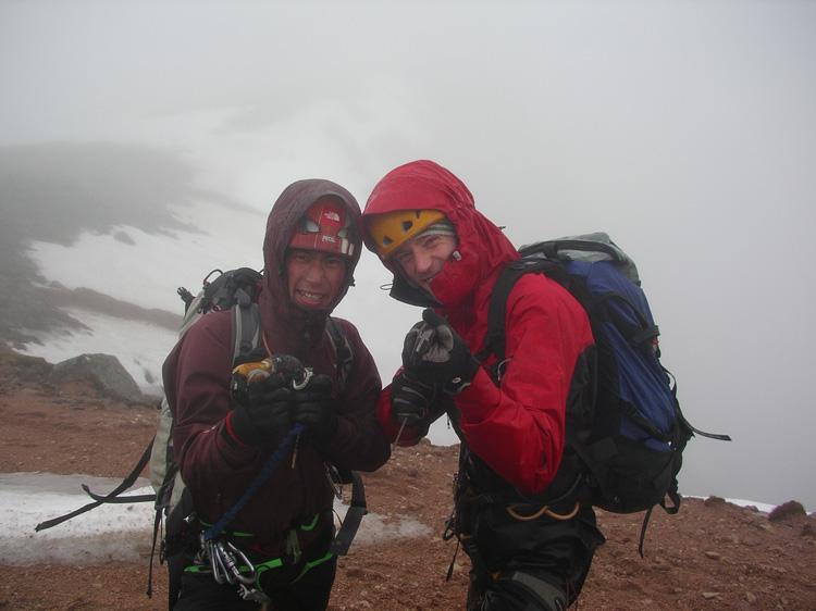 Giri Giri boy Yusuke Sato and Jack Geldard getting wet, 112 kb