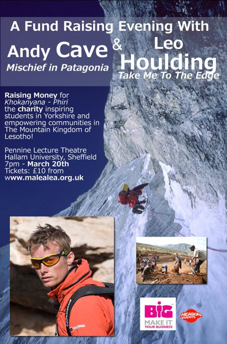 Andy Cave and Leo Houlding Poster, 150 kb