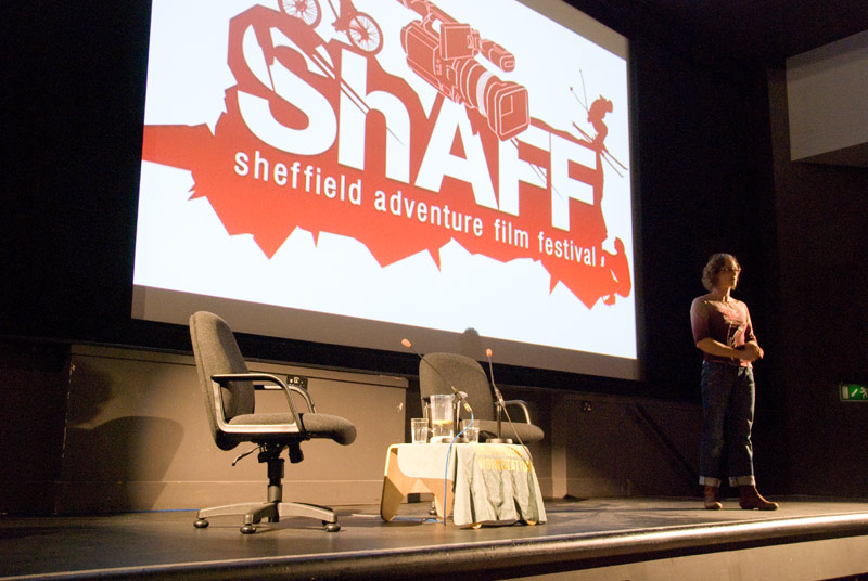 Katherine Schirrmacher opening ShAFF 2009 on Friday night, 110 kb