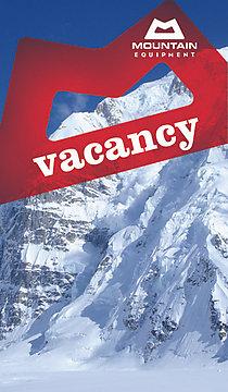 Premier Post: VACANCY: Senior Designer – Mountain Equipment, 32 kb