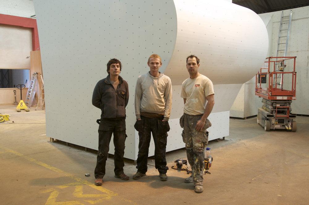 The Depot Team (l-r) Oliver Wright, Steve Dunning, Luke Bowers, 101 kb