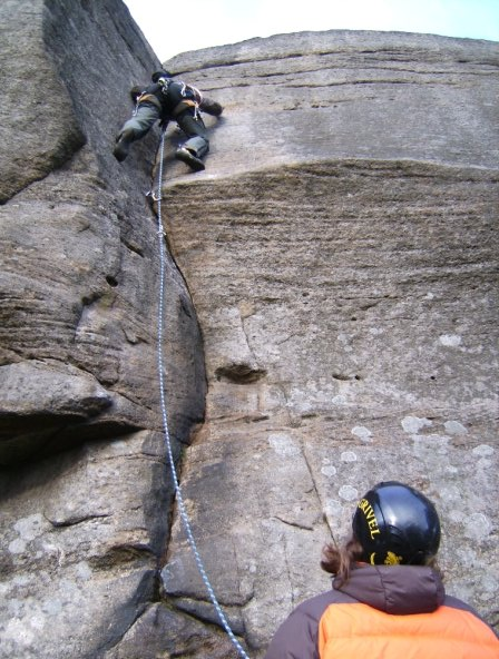 Tom Ireson leading Long Tall Sally (E1), 75 kb