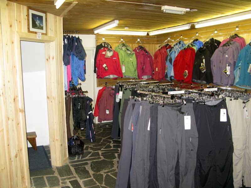 The new clothing and changing rooms., 60 kb