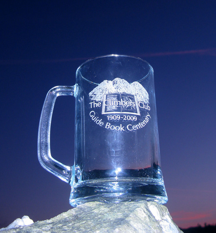 The Climbers' Club Guidebook Centenary Tankard, 115 kb