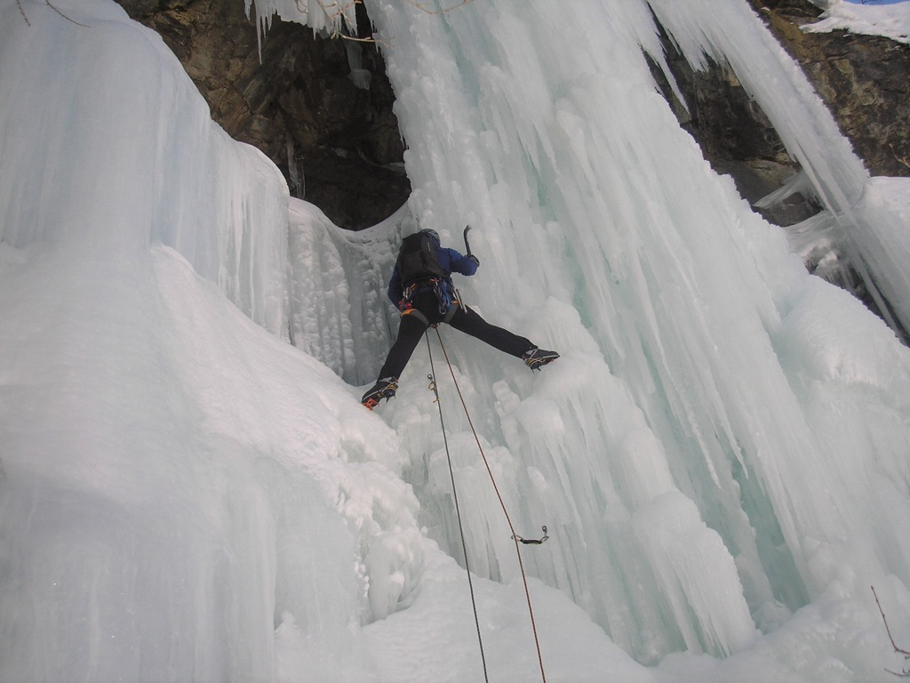 Testing the Evo Extreme on a WI5 in La Grave, 150 kb