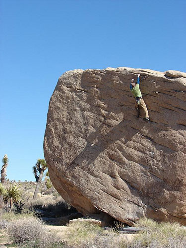 Kris on Slashface, Joshua Tree, 55 kb