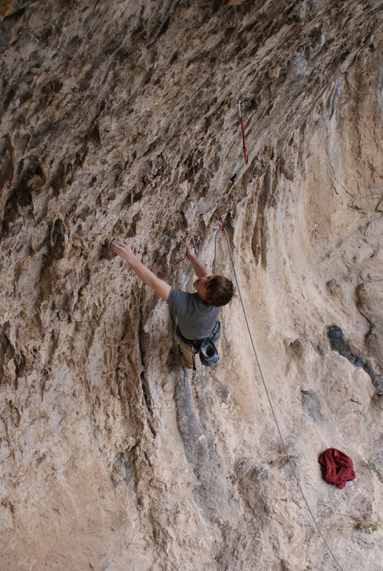 Jonathan Stocking on form in Terradets, Spain, 148 kb