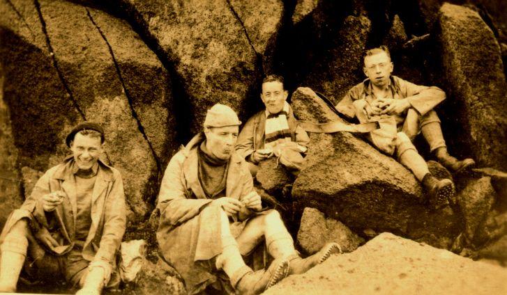 Bergers at Great Gable 1930-1940, 84 kb