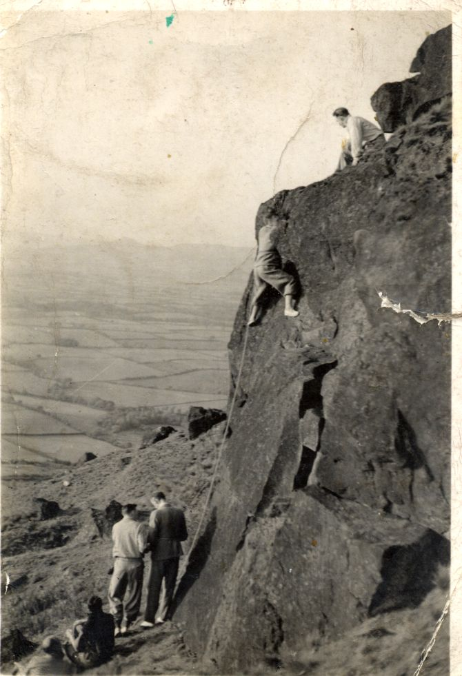 Climbing in the 1930's, 95 kb