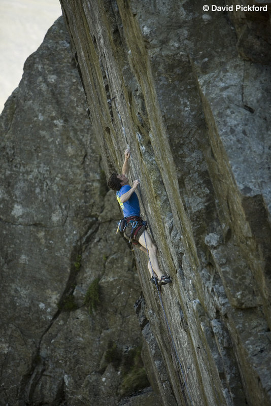 James McHaffie cruising Mission Impossible E9 7a, 106 kb