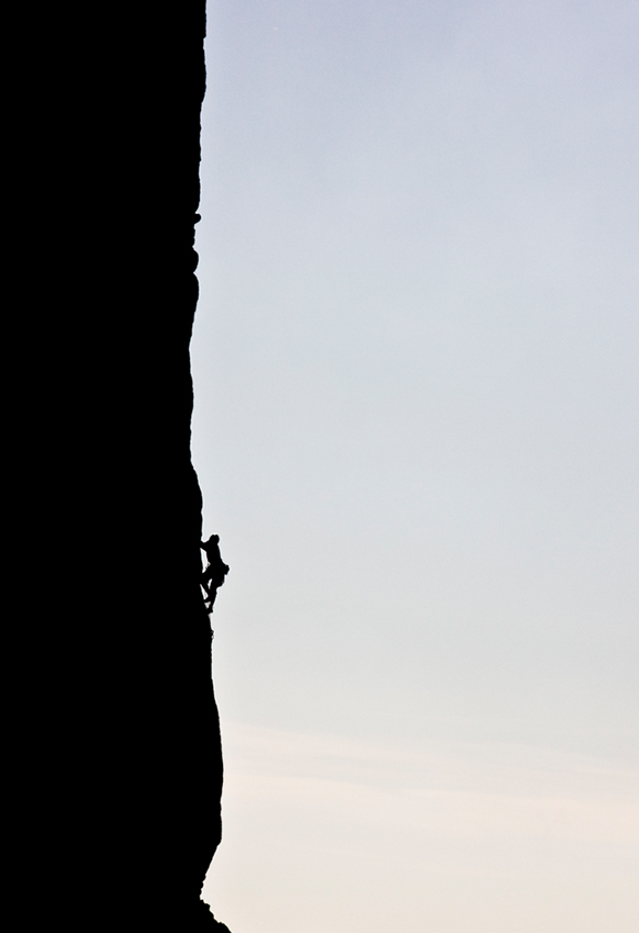 Central Buttress Silhouette, 111 kb