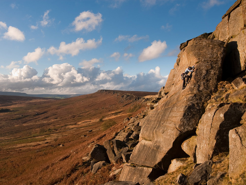 Wall End Slab, Stanage, 213 kb