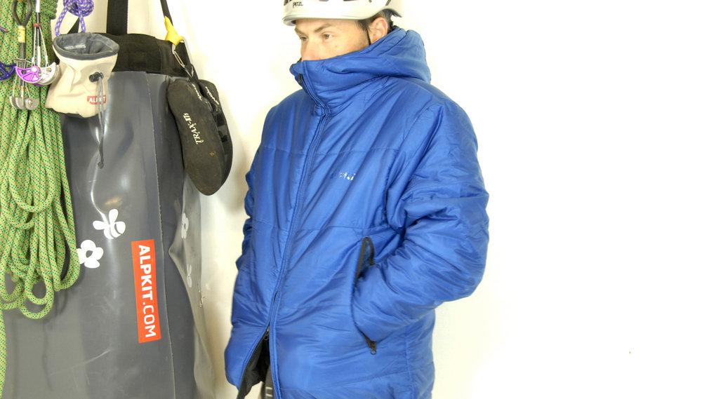 76d93c046a10 UKC Gear - Alpkit New CoLab 0Hiro belay jacket.