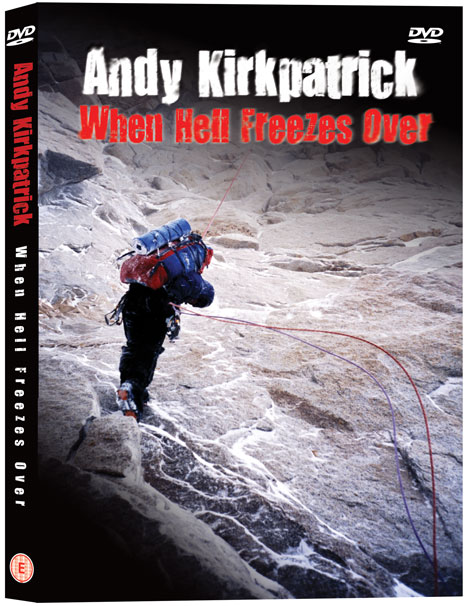 When Hell Freezes Over - Andy Kirkpatrick DVD, 83 kb