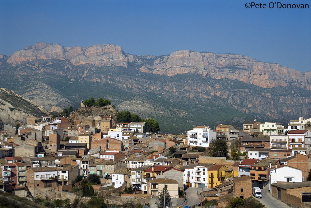 Camarasa, a typical village in the north-western part of Catalunya, 215 kb
