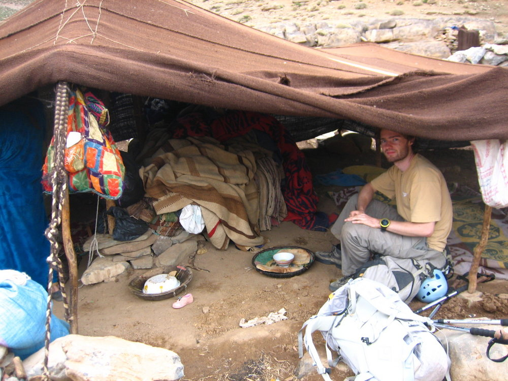 Chilling out with the local Berber nomads., 175 kb