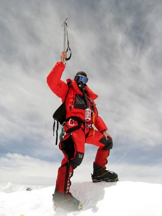 Everest summit, 20 kb