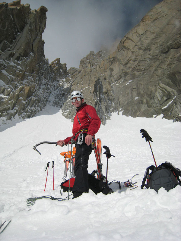 Andy Cave in the Alps, Spring 2007  .1, 106 kb