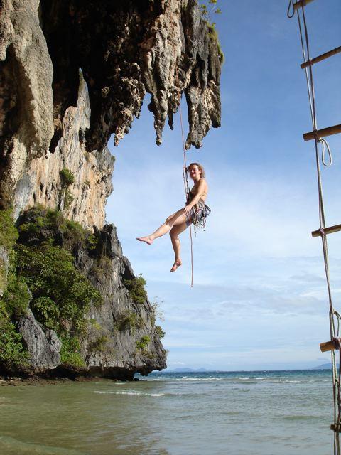 Sport climbing in Thailand @ 12 weeks, 61 kb