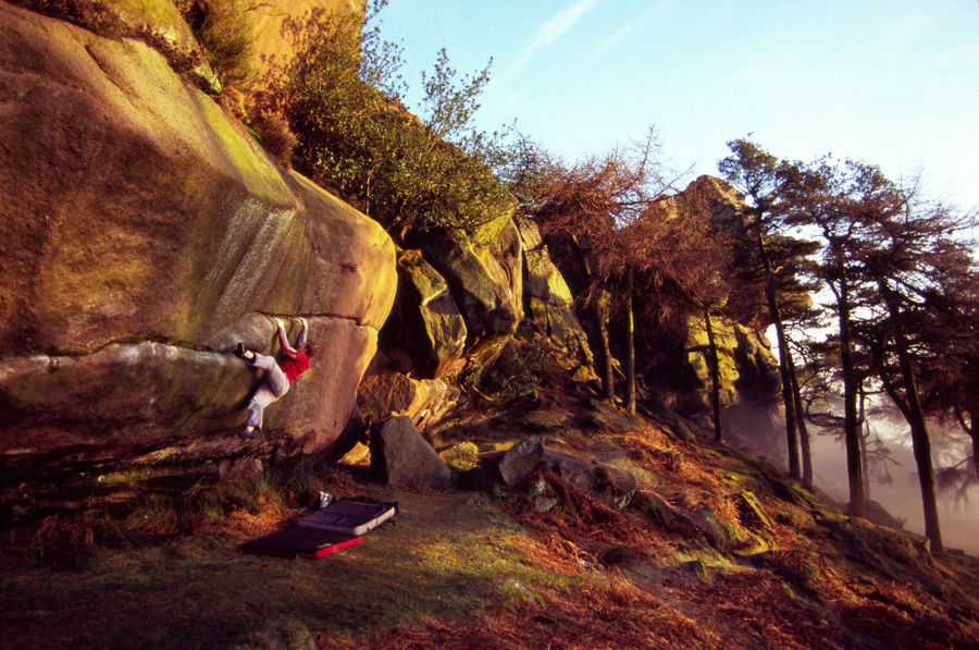 Iain working Teck Crack Direct on a crisp winters day, 162 kb