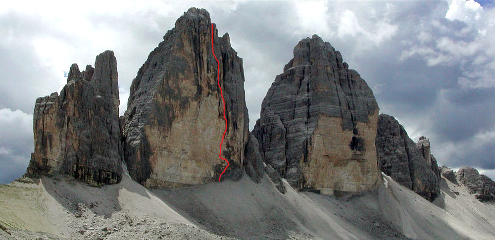The Tre Cime North Faces, 188 kb