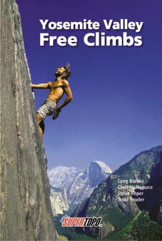 Yosemite Free Climbs Cover, 112 kb
