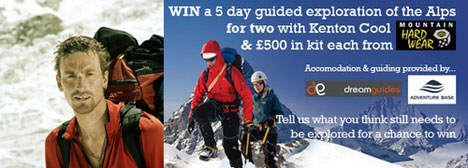 Win A 5 Day Guided Alps Trip & £500 In Kit From Mountain Hardwear #1, 31 kb